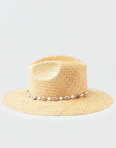 San Diego Hat Co. Shell Trim Panama Hat
