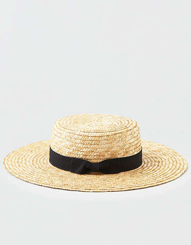San Diego Hat Co. Wheat Straw Boater Hat