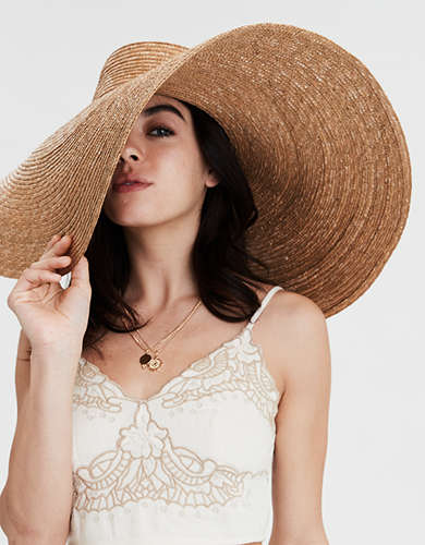San Diego Hat Co. Oversized Wheat Straw Hat