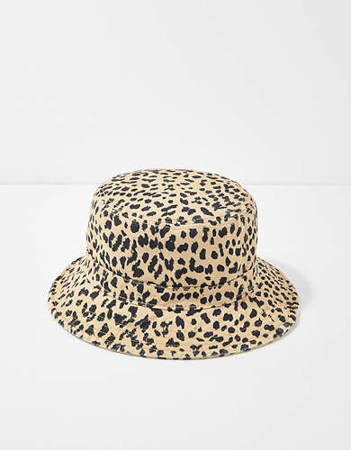 AE Animal Print Bucket Hat