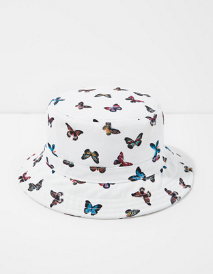 Панама с изображением бабочек AE