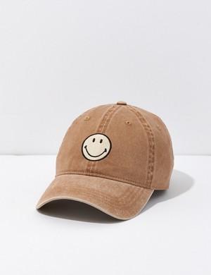 AE Smiley Baseball Hat