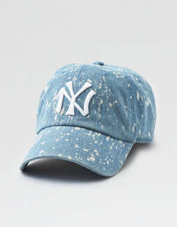 American Needle Bleach Splatter NYY Baseball Hat