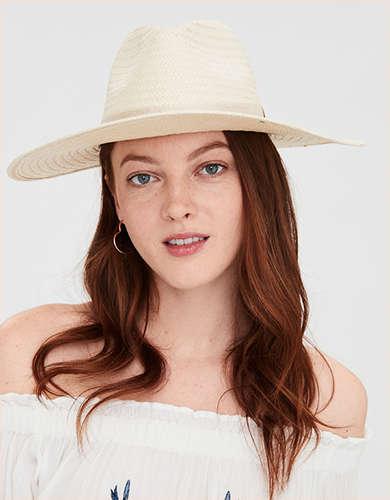 AE Wide Brim Panama Hat