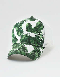 Aeo Tropical Mesh Back Baseball Cap by American Eagle Outfitters