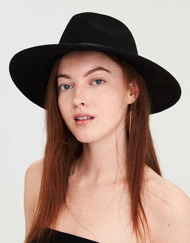 AE Studded Flat Brim Western Hat