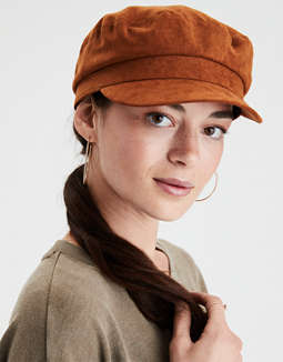 669bf53e118 aeo-sueded-baker-boy-cap by american-eagle-outfitters