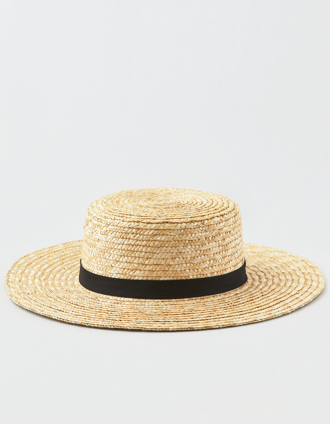 AEO Wide Brim Straw Boater Hat. Placeholder image. Product Image 0257809815b6
