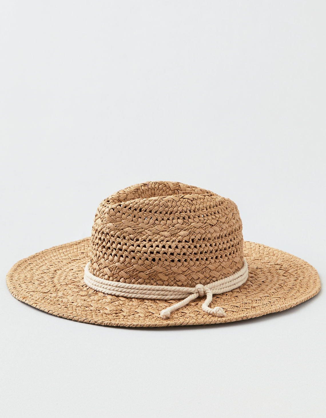 AEO Rope Trim Straw Hat
