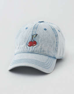 AEO Cherry Baseball Hat