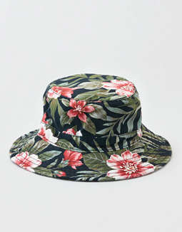 36fa04d5 placeholder image AEO Tropical Printed Bucket Hat ...