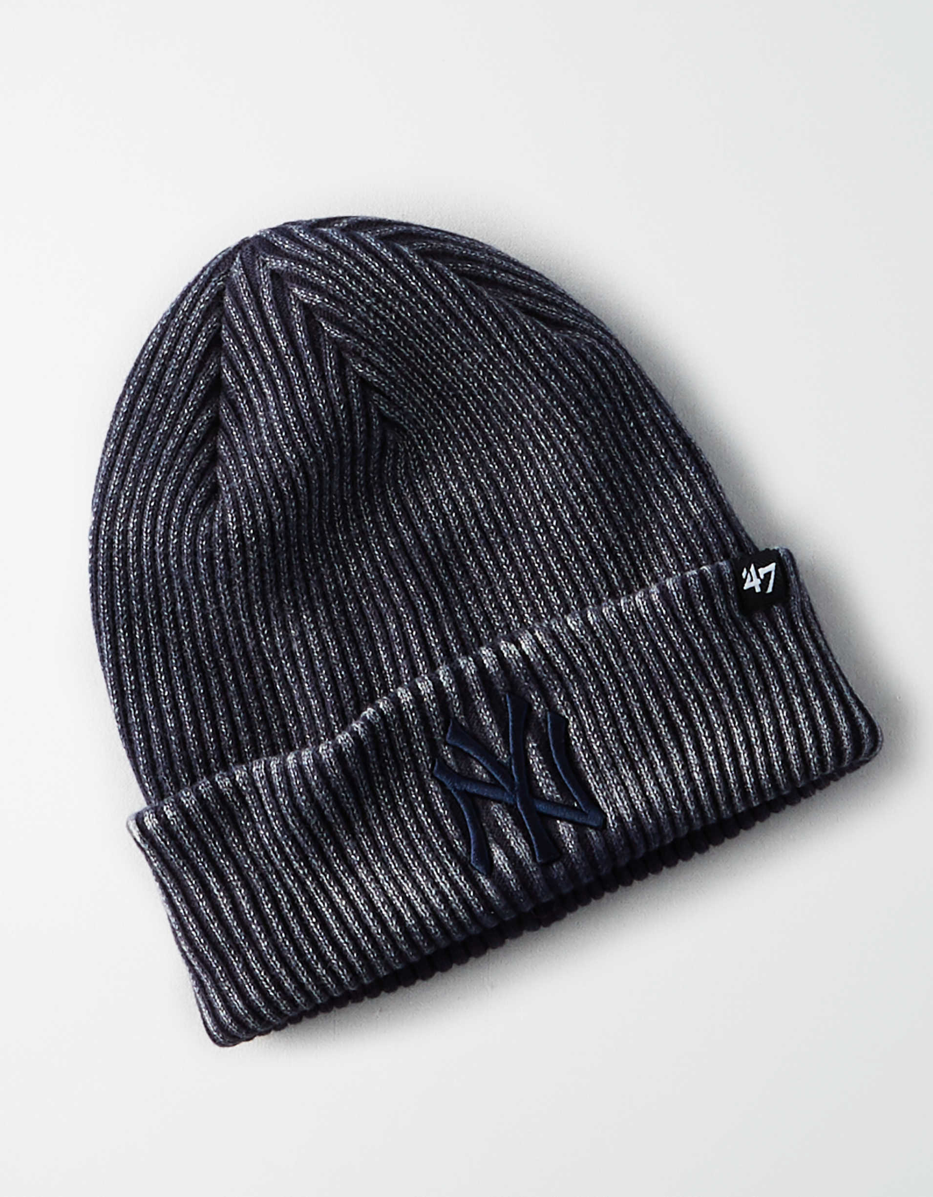 '47 Brand Ribbed New York Yankees Cuff Knit Beanie
