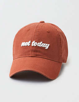 c4289812d0e714 placeholder image AEO Not Today Baseball Cap ...