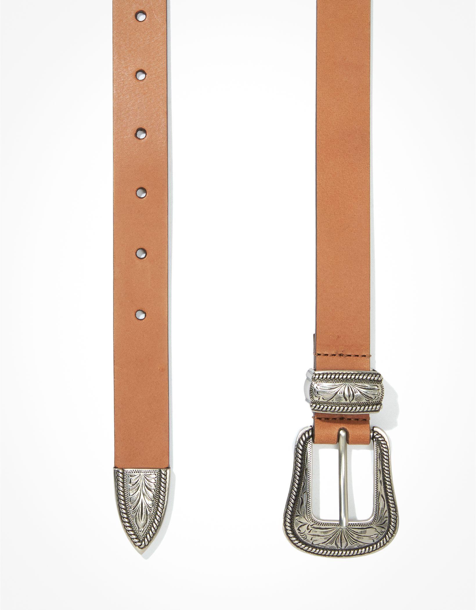 AEO Western Leather Belt