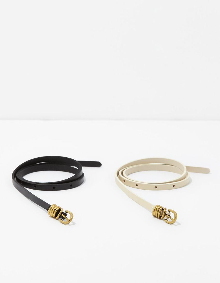 AE Skinny Belts 2-Pack