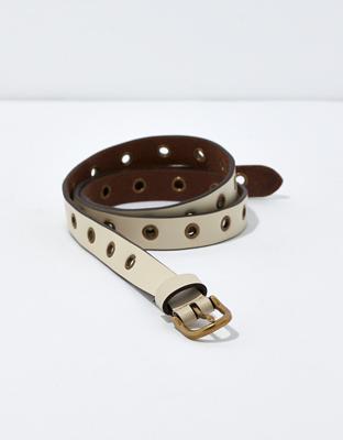 AE Leather Grommet Belt