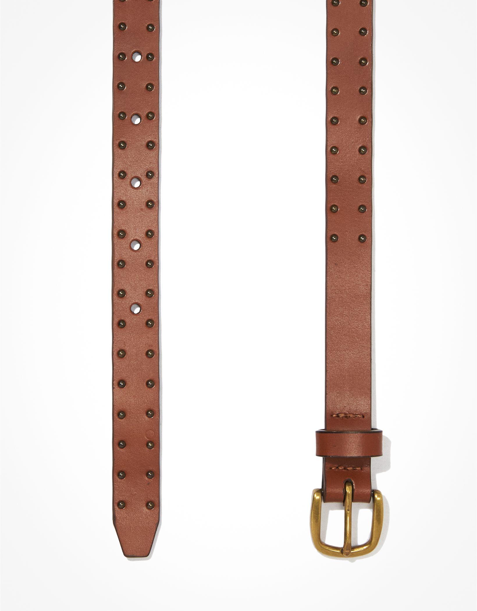 AE Studded Leather Belt