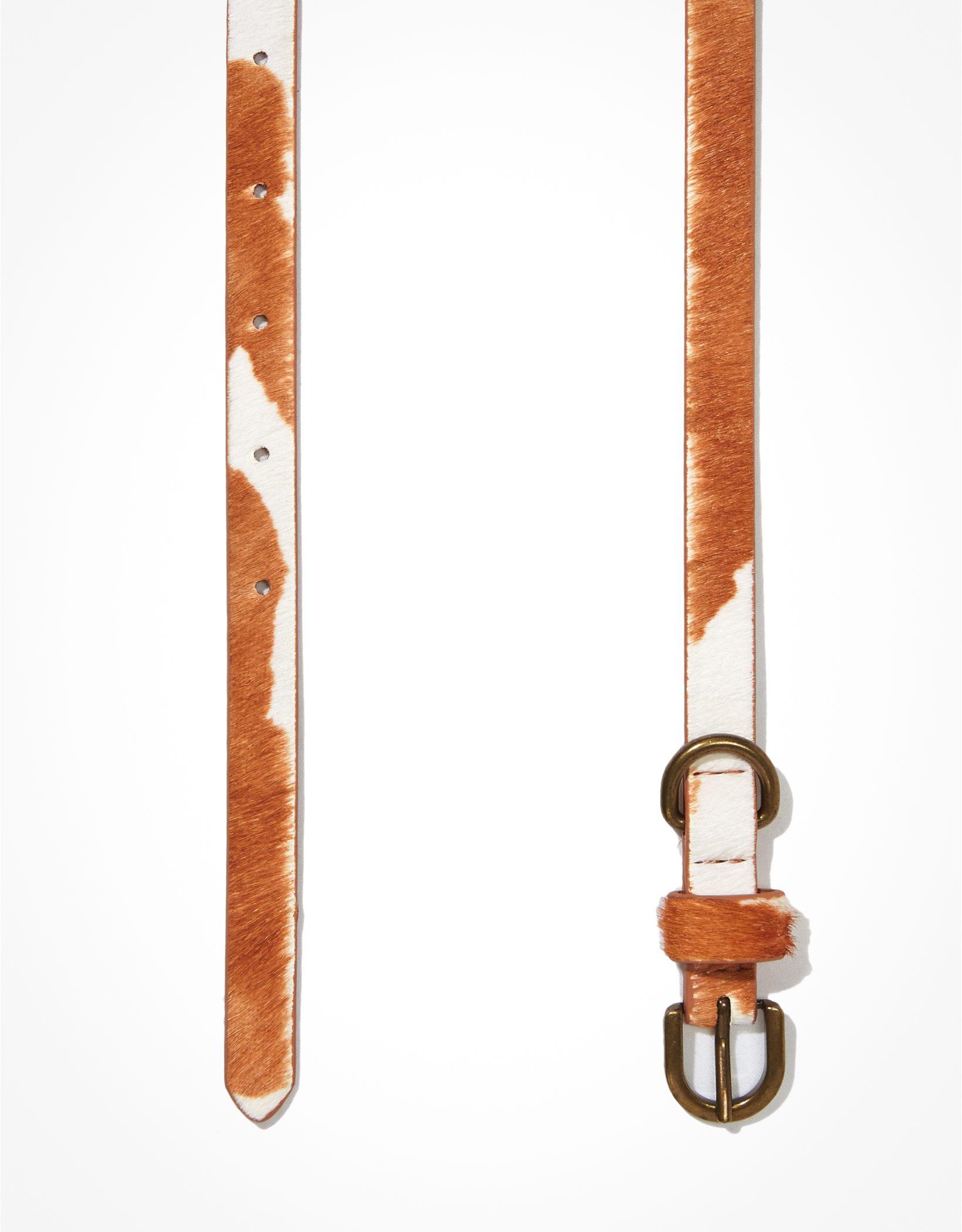 AE Cow Print Belt