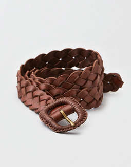 AEO Wrapped Braided Buckle Hip Belt