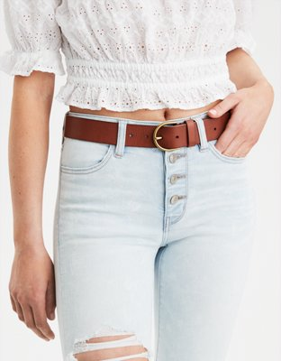 Aeo High Waisted Basic Belt by American Eagle Outfitters