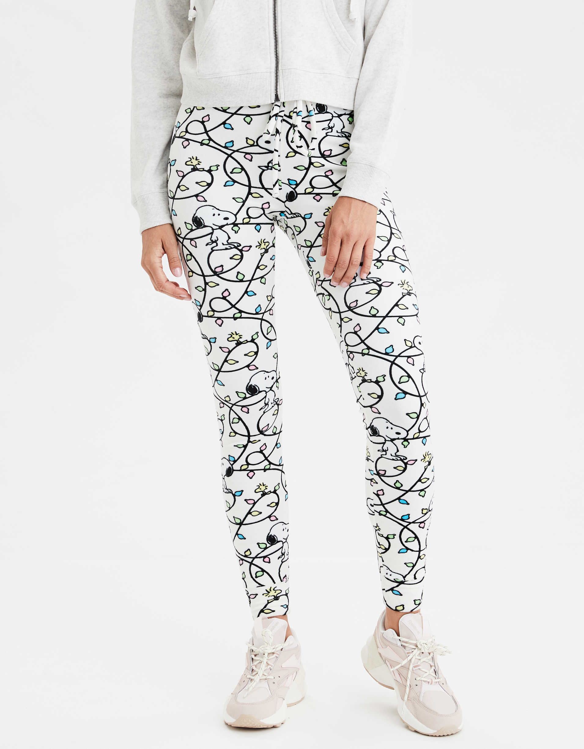 AEO Super High-Waisted Snoopy Velvet Legging