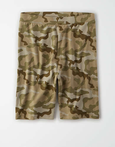 AE Highest-Waisted Camo Bike Short