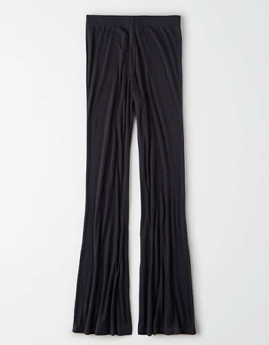 AE Super High-Waisted Ribbed Flare Legging