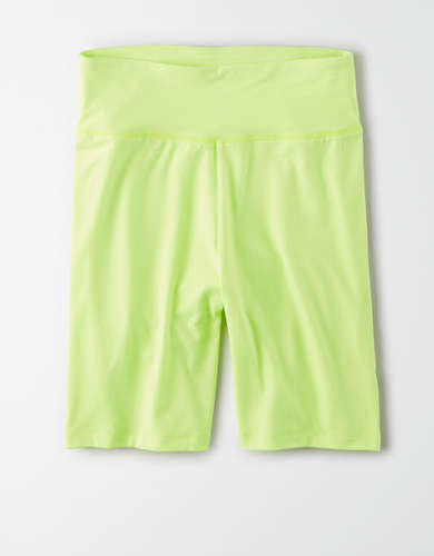AE Highest-Rise Neon Wide Waistband Bike Short