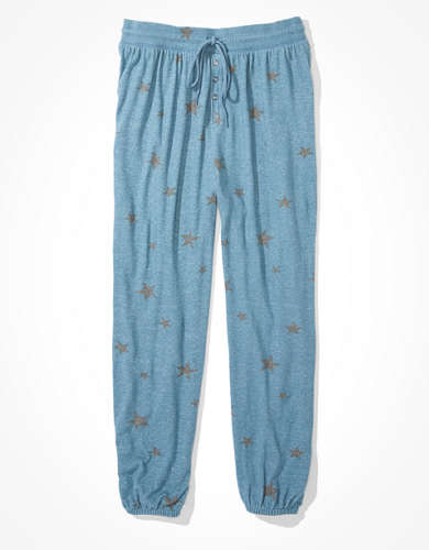 AEO Plush Super High-Waisted Boyfriend Jogger Pant