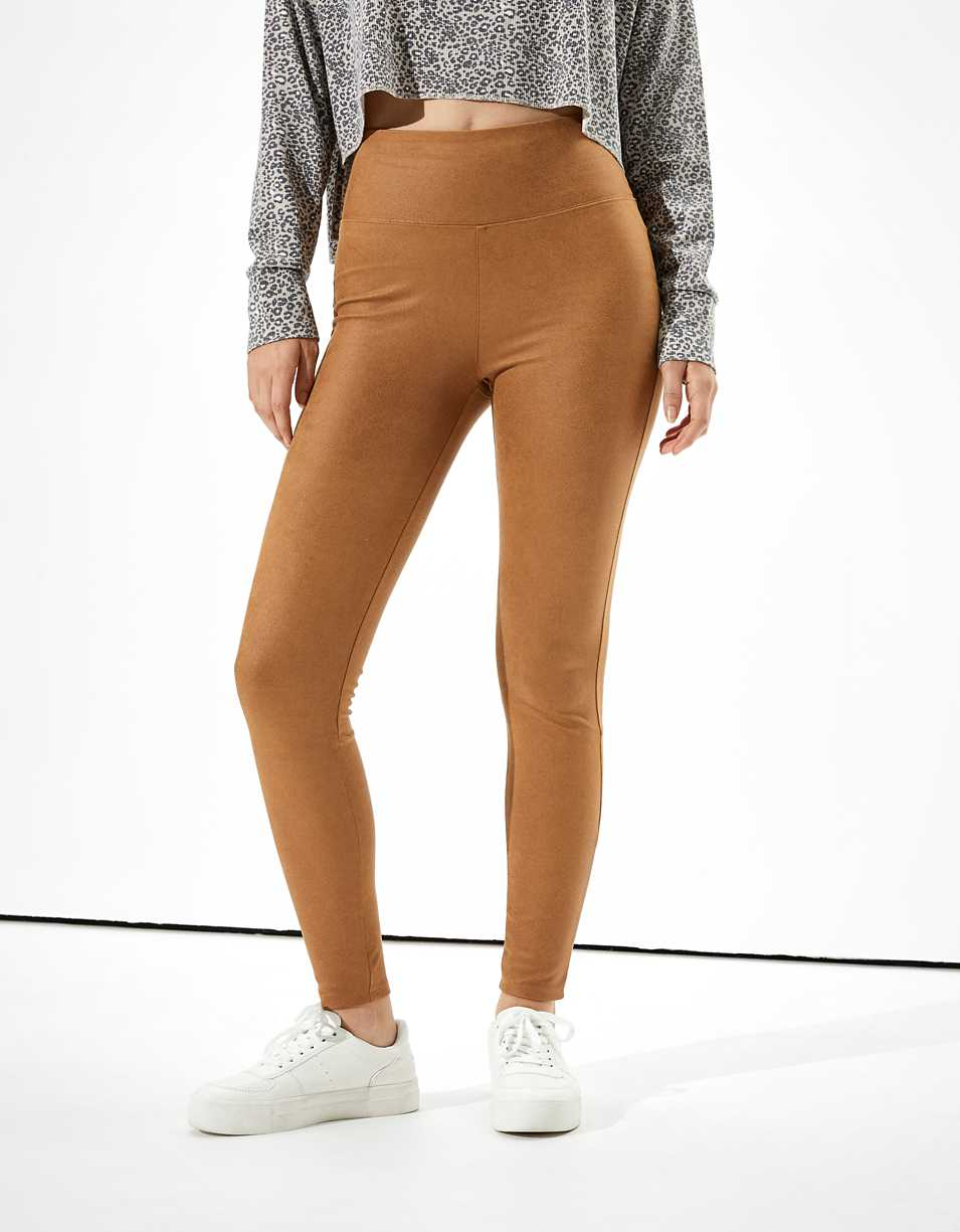 AE Faux Suede Highest Waist Legging