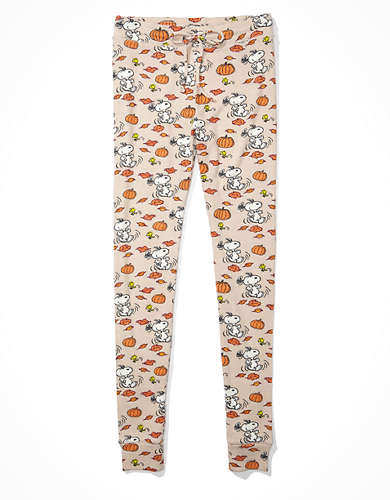 AE Plush Pumpkin Peanuts Super High-Waisted Legging