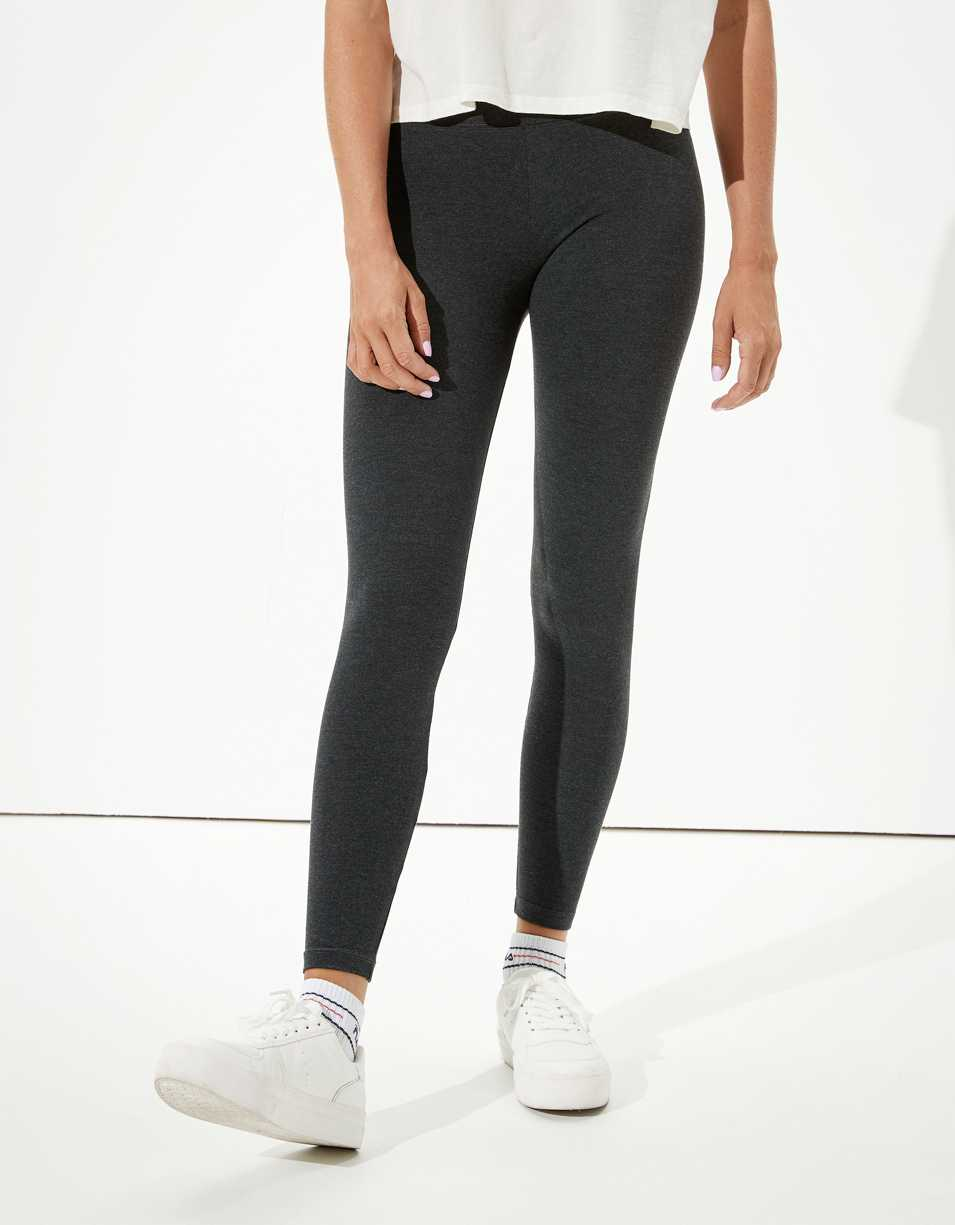 AE High-Waisted Cotton Blend Legging