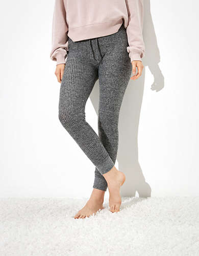 AE Super High-Waisted Waffle Plush Legging