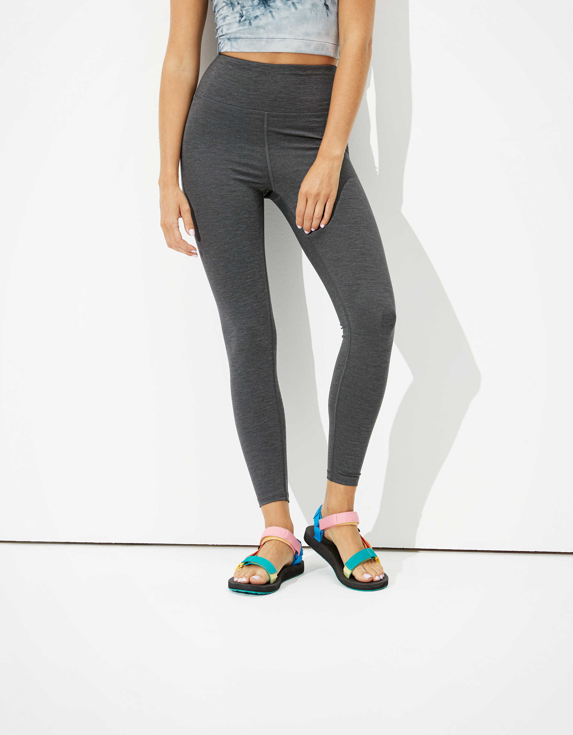 AE 7/8 Everything Highest-Waisted Legging