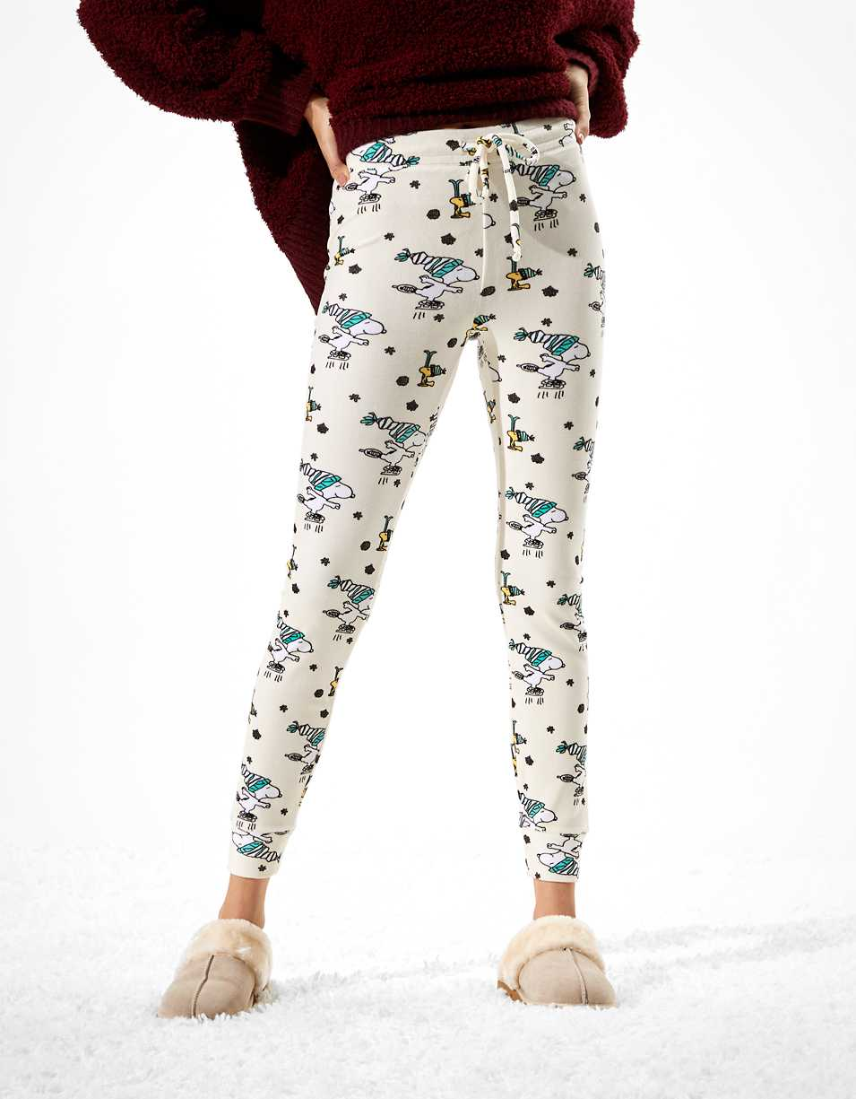 AE Velvet Snoopy Super High-Waisted Legging