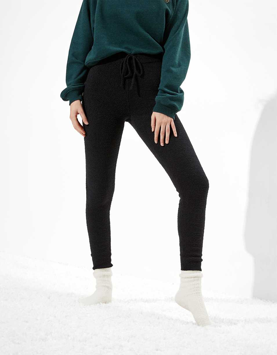AE Cozy Knit Super High-Waisted Legging