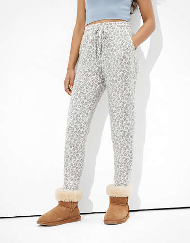 AE Plush Waffle Super High-Waisted Jogger Legging