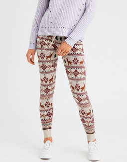 Aeo Reindeer Fair Isle Sweater Legging by American Eagle Outfitters