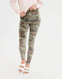 eb3a4a6ebe8ac Shoptagr | Aeo Plush Camo Sweater Legging by American Eagle Outfitters