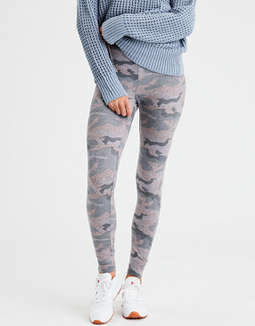 Aeo Camo Sweater Legging by American Eagle Outfitters