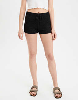 AE High-Waisted Solid Plush Short