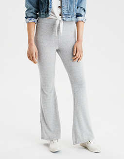 AE High-Waisted Plush Flare Legging