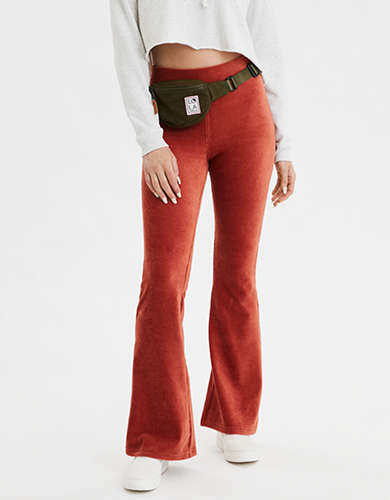 AE High-Waisted Corduroy Flare Legging