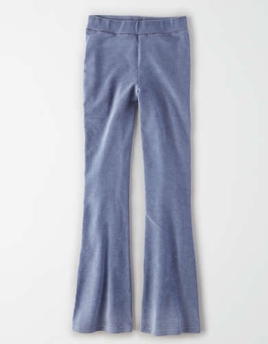AE Super High-Waisted Corduroy Flare Legging