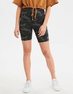 AE High-Waisted Camo Bike Short