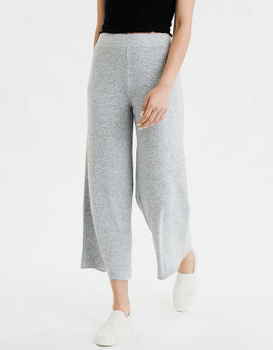AE High-Waisted Plush Culotte