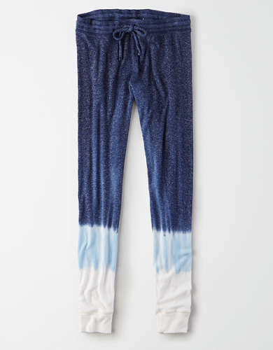 AEO Super High-Waisted Soft Plush Dip Dye Legging
