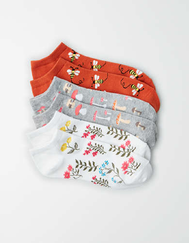 AEO Nature Ankle Socks 3-Pack