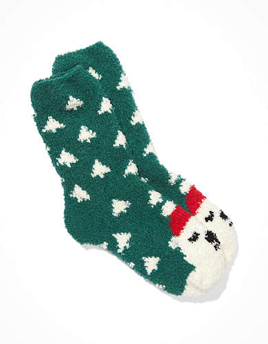 AE Polar Bear Crew Sock