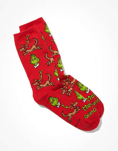 AE The Grinch + Max Crew Sock